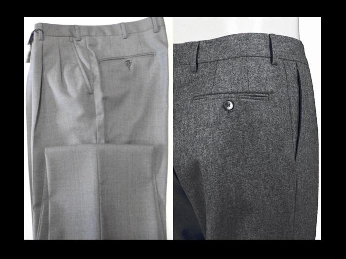 486f5d03628655 PANTALONE ELEGANTI: Pantaloni in lana o cotone più eleganti; Sono  disponibili in una linea più stretta ed una linea più comoda.